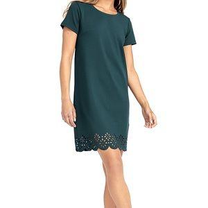 Twik Laser-cut pattern dress